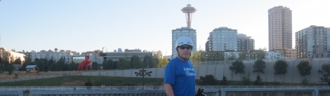 One man in Seattle