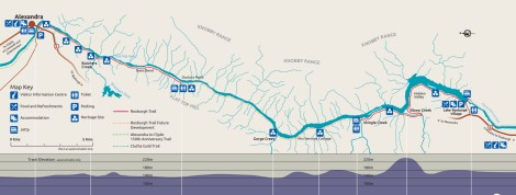 Roxburgh Gorge Map
